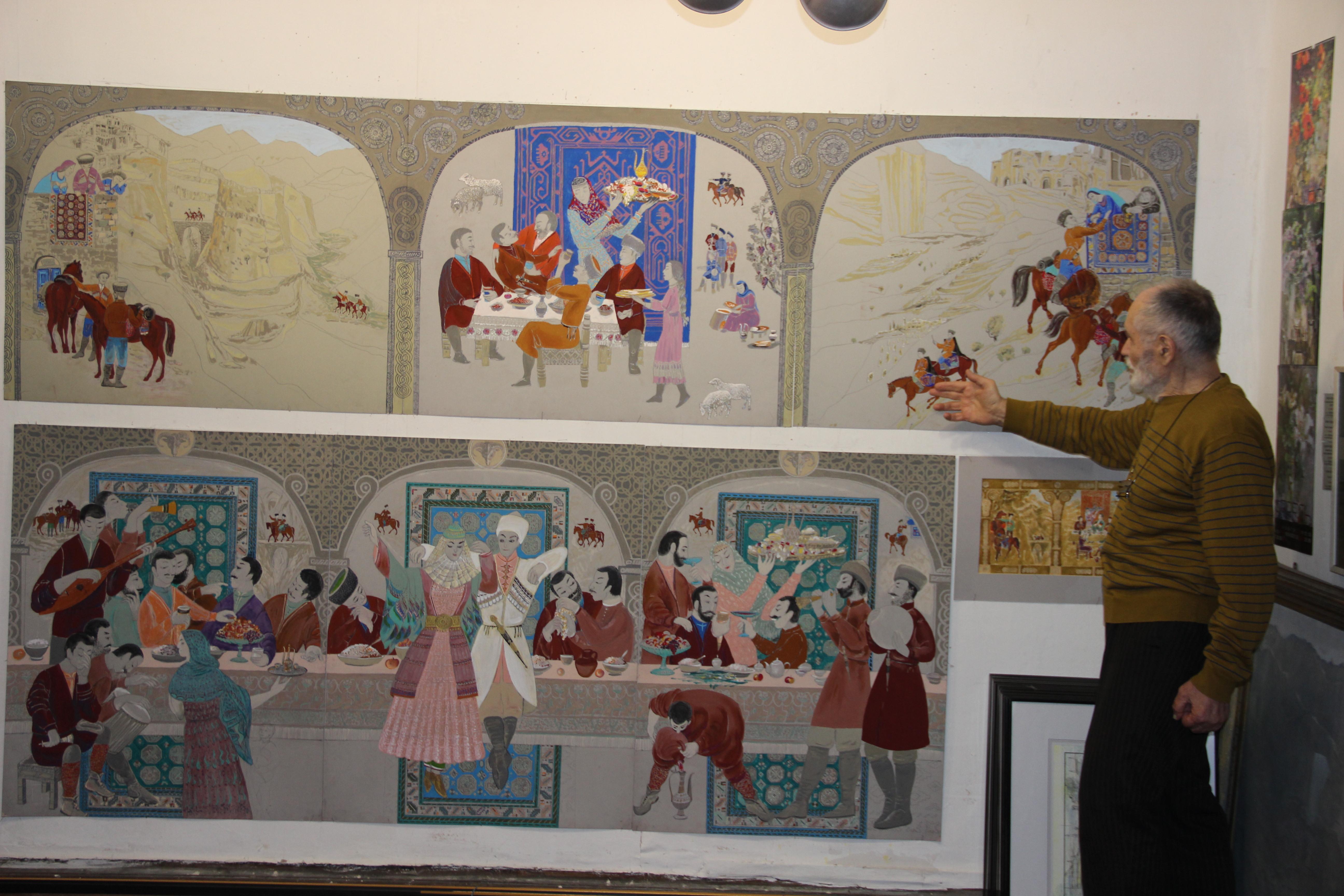 Представительство республики Дагестан в Санкт Петербурге  в котором объединены несколько исторических новелл на дагестанских языках Камиль Ибрагимов в качестве дипломной работы представил документальны фильм